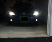 LED Fog Lights on Customer Car