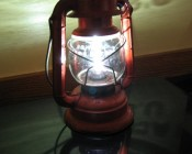 Remarkable amount of light from such a tiny bulb! I replaced the standard #14 bulb in my 60 year old Dietz Comet Lantern I got when I was 5 years old and you would not believe how much light that little lantern puts out now! I am very happy with the results. - Mike (customer review)