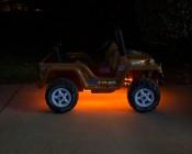 RGB Battery Powered LED Light Strips Kit - Multicolor - 2 Portable LED Light Strips