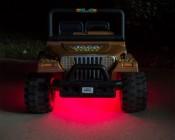 Battery Powered LED Light Strips Kit - Single Color - 2 Portable LED Light Strips