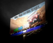 Billboard Illumination with 50W Modular LED Floodlight