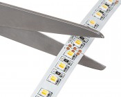 LED Light Strips - Variable Color Temperature Flexible LED Tape Light with 36 SMDs/ft., 2 Chip SMD LED 3528: Cut