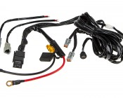 LED Light Wiring Harness with Switch and Relay - Dual Output, ATP Connector
