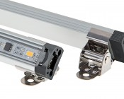 LED Linear Light Bar Fixture: Clips