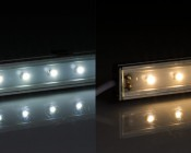 LED Linear light fixture: Cool White, Warm White
