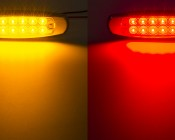 PBM-xHP12 series Peterbilt LED Marker Lamp available in Amber and Red