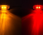 """LED Golf Cart Side Clearance Lights - 2-1/2"""": available in Amber and Red"""