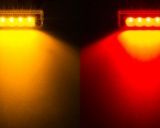 M2-xHP4 series LED Marker Lamp available in Amber and Red