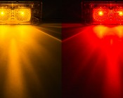 M8PC series Marker Lamp available in Amber and Red