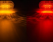 M9 series Marker Lamp available in Amber and Red