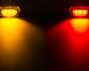 MMK series Mini Marker Light Kit available in Amber and Red