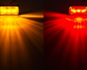 MMKPC series Mini Marker Light Kit available in Amber and Red