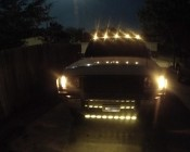M3 series LED Marker Lamps on Truck