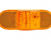 Mid-Turn Signal/Marker LED Light: Front View