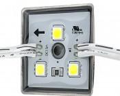 Single Color LED Module - Square Sign Module w/ 3 SMD LEDs