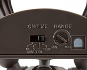 LED Motion Sensor Light - 2 Head Security Light - 20W: View Of Timer