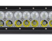 "23"" Heavy Duty Off Road LED Light with Multi Beam Technology - 144W: Close Up View Of LEDs"