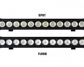 """21"""" Heavy Duty Off Road LED Light Bar available in Spot and Flood options"""