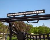 Off Road LED Light Bar Attached To ATV