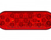 PT-xHB17 series High Brightness Oval Truck Light: Front View