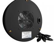 LED Grow Light - 135W Round Panel Plant Grow Lamp, 7-Band Spectrum: Back View