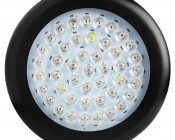 LED Grow Light - 135W Round Panel Plant Grow Lamp, 7-Band Spectrum: Front View