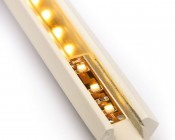 Klus 0973 - 45-MDF series Corner Mount MDF LED Profile Housing