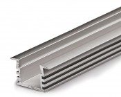 Klus B3776-1M - PDS4-K series Deep Flush Mount Aluminum LED Profile Housing