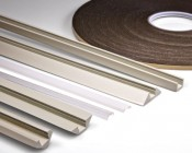 Bottom to Top: 45-MDF, PAC-MDF, 1548-xM Clear Lens, 1547 Frosted Lens, STOS-MDF, PDS-MDF, 3M-FTS Double-Sided Foam Tape Strip
