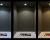 LED Puck Lights - 25 Watt Equivalent: Shown On In Cool White (Left), Natural White (Center), And Warm White (Right).