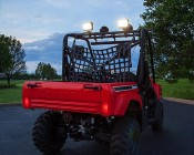 "6"" Rectangular 33W Heavy Duty High Powered LED Work Light: Attached to Top of ATV / UTV"