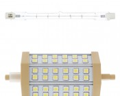 R7S-W8W LED Replacement with Original Halogen Light
