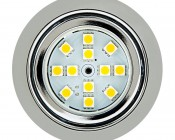Recessed Light Fixture, 12 LED: Front View