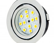 Recessed Light Fixture, 12 LED