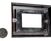 Rectangular Trim for Accent Light: Back View With Size Comparison
