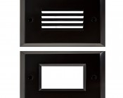 Rectangular Trim for Accent Light: Front View