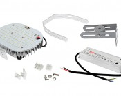 LED Retrofit Kit for 500W MH Fixtures - 11,200 Lumens: All Components Included