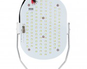 LED Retrofit Kit for 500W MH Fixtures - 11,200 Lumens: Front View