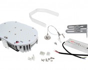 LED Retrofit Kit for 750W MH Fixtures - 18,000 Lumens: All Components Included