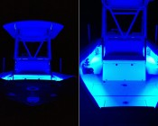 Boat & Jet Ski - Color Changing Weatherproof RGB LED Glow Strip Accent Lighting Kit: Installed On Hull Of Boat