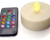 RGB LED Candle Light with Remote