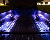 Truck Bed LED Lighting Kit - Multi-Strip Remote Activated RGB Color Changing Kit: Installed on Truck Bed