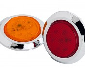 M5SM-x7 - M5SM series 2in Round LED Marker Lamp: Available In Red & Amber