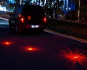 Rechargeable LED Road Flares: On Road Alerting Oncoming Traffic