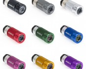 Rechargeable LED Flashlight Available in Black, Titanium, Silver, Red, Blue, Green, Pink, Orange, and Purple