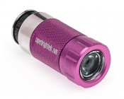 Pink Rechargeable LED Flashlight