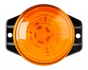 """5.2"""" LED Strobe Light Beacon with 10 LEDs: Top View"""