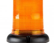 """6.7"""" LED Strobe Light Beacon with 15 LEDs - Magnetic Base: Profile View"""