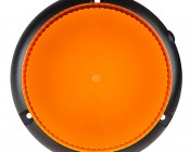 """6.7"""" LED Strobe Light Beacon with 15 LEDs - Magnetic Base: Top View"""