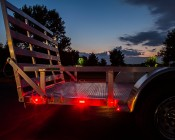 M2 series LED Marker Lamp: Attached To Trailer